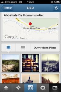 Abbatiale de Romainmôtier sur Instagram