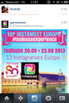 lancement toulouseexperience tags perso visuels