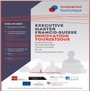 EMBA franco - suisse plaquette innovation touristique