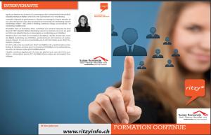 image verso flyer description cours cursus emarketing et reseaux sociaux lausanne suisse romande